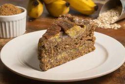 Torta Integral de Banana - Fatia
