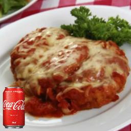 Combo Coca-Cola Parmegiana de Frango