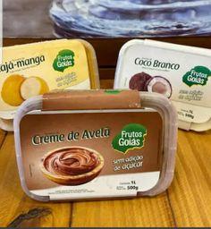 Sorvete Zero Açúcar Creme de Avelã