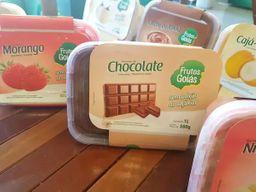 Sorvete Zero Açúcar de Chocolate