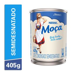 Nestlé 6 06 Em 6 Unid Leite Condensado Moca Semi Desnatado