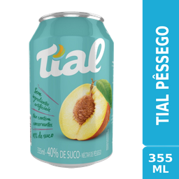 Tial Pêssego 355ml