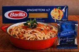 Spaghettoni Barilla ao Sugo