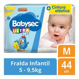 Babysec Fralda Galinha Pintadinha Ultrasec M