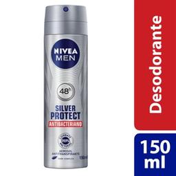 Nivea Men Desodorante Aerosol Silver Protect Nivea