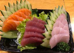 Sashimi Salmão 15 pçs