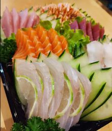 Sashimi especial 25 pçs