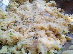 Massa Fresca de Bolinho de Bacalhau - 1kg