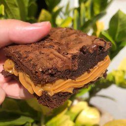 Brownie Recheado de Doce de Leite - 120g