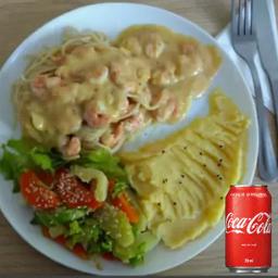 Combo Camarão ao Requeijão e 1 Coca-Cola 350ml