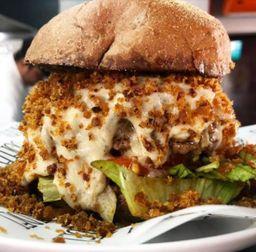 Baconzola burger