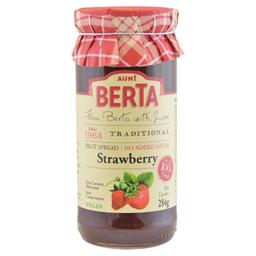 Aunt Berta Geleia Is Morango Sem Açúcar