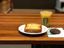 Suco de Laranja + Croque + Cookie