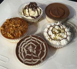 Tortas de Ninho com Chocolate
