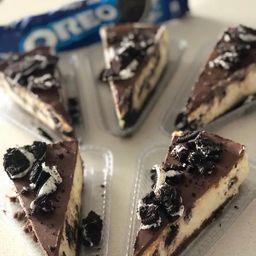 Cheesecake de Oreo - Fatia