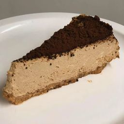 Cheesecake de Café - Fatia