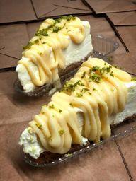 Cheesecake de Limão - Fatia