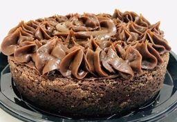 Torta Brownie Cobertura de Chocolate - 800g