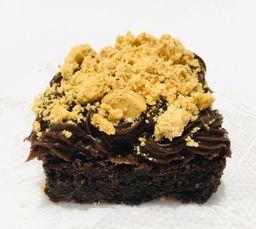 Brownie Recheado de Paçoca - 6cmx6cm