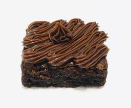 Brownie Recheado de Chocolate - 6cmx6cm