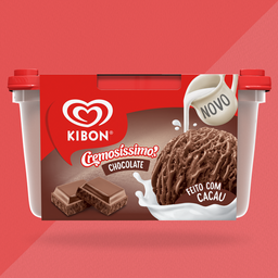 Pote Kibon Cremosíssimo Chocolate 1,5L