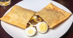 Pastel de Carne, Ovo e Azeitonas - 25cm