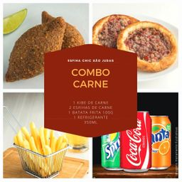 Combo Carne - 05 Itens
