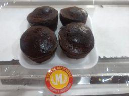 Bolo de Chocolate Bandeja - 4 Unidades