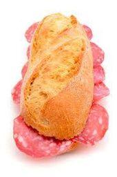Sanduiche de Salaminho Italiano