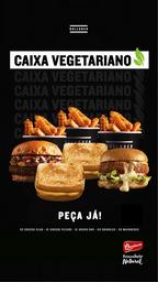 Bullguer na Caixa - Vegeteriano