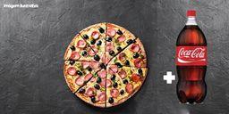 Combo 1 Pizza Grande + Coca 2l