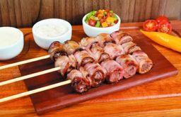 Espetinho de Carne com Bacon - Unidade