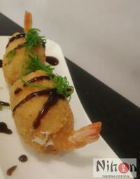 Sushi Especial Ebi Quente - 6 Unidades