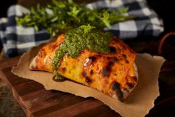 Burrata in Calzone