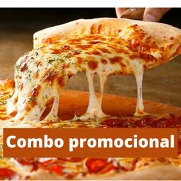 Combo 1 - 2 pizzas salgadas G + 1 brotinho doce + 1 refri 1L