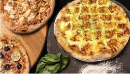 2 Pizzas Tradicionais 35 cm + Brotão Doce + Bebida