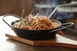 Espaguete Integral à Bolognesa
