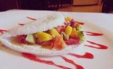Tapioca Salada de Frutas