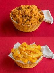 Magic Chicken sem Osso + Polenta Magic - 4 Pessoas