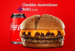 Cheddar Australiano + Coca-Cola