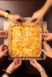 Pizza Quattrata - Pequena