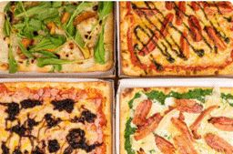 Pizza Meio a Meio Quattrata - Grande