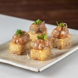 Sushi Crocante com Crunchy Roll