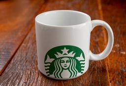 Caneca Starbucks Branca 100ml