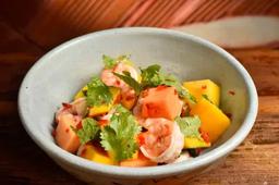 Yam kung mammuang( salada de camarão)
