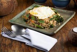 Kao Pad Bay Kaprow(arroz Frito)