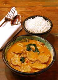 Gaeng Moo Tay Po(porco Vermelho)