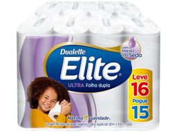 Elite Papel Higiênico Folha Dupla 30M