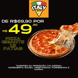 Pizza Gigante Black Friday