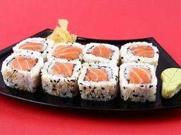 2 por 1 Uramaki de salmão 10 peças